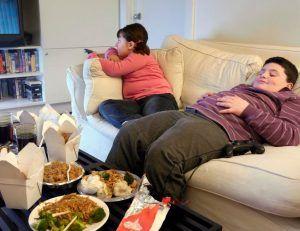 obesidad infantil comida basura en casa