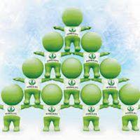 Herbalife ¿Es piramidal? Mentira y Verdades esquema piramidal herbalife piramidal www.tucaminodelbienestar.com