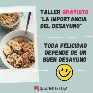 Toda felicidad depende de un buen desayuno