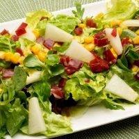 ensalada melon y jamon recetas de cocina www.tucaminodelbienestar.com